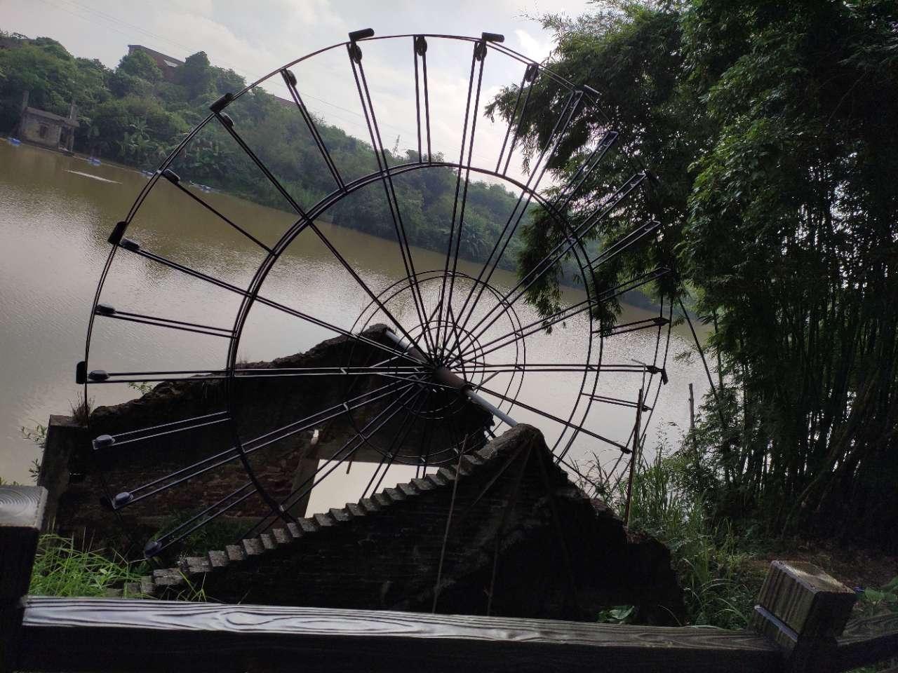 丰盛村,偶然发现了一个避暑的好去处